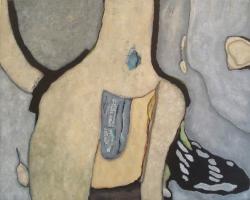 Olieverf 100 x 80 cm, 2011