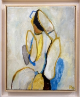 Olieverf 20 x 25 cm, 2016, Sold