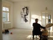 Artoll, BegburgHau, Germany, acryl on paper, 150/260cm