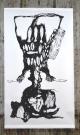 Buikmakrelen, acryl on paper, 150/ 260cm