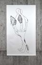 RUN, acryl on paper, 150/ 260cm